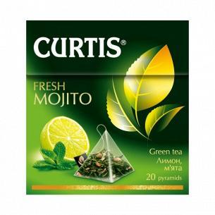 Чай зеленый Curtis Фреш Мохито доп растител сырья