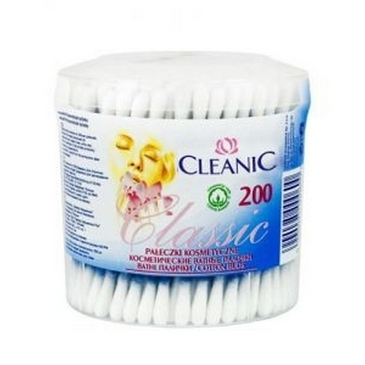 Палочки ватные Cleanic