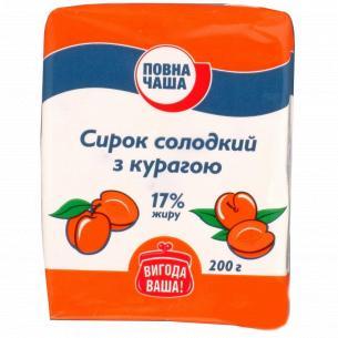 """Масса творожная """"Повна Чаша"""" курага 10%"""