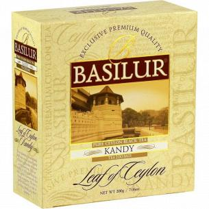 Чай черный Basilur Kandy