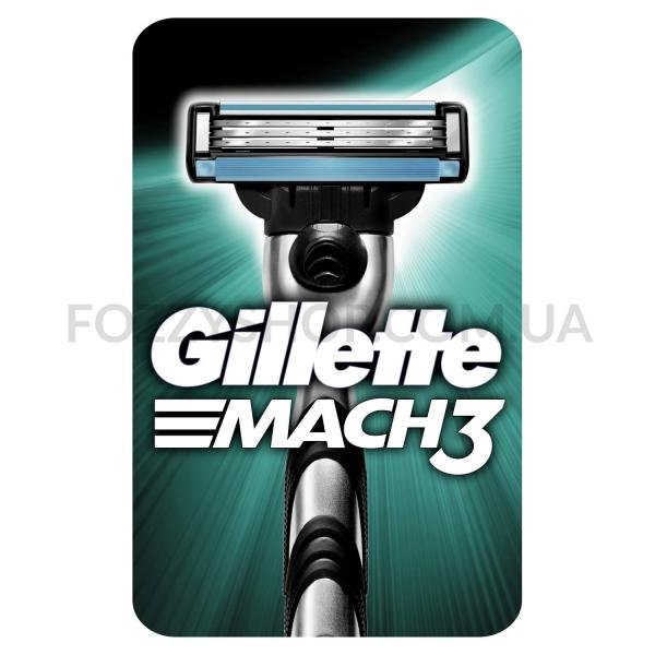Бритва Gillette Mach 3 с 1 сменным картриджем