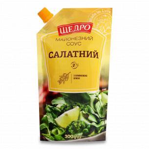 Соус Щедро Салатный майонезный 30% д/п