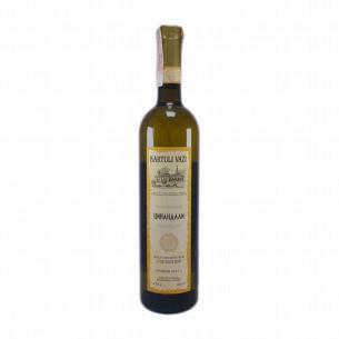 Вино Картули Вази Цинандали белое сухое