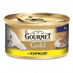 Корм Gourmet Gold паштет из курицы