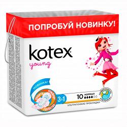 Прокладки гигиенические Kotex Young Normal